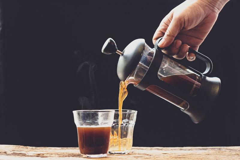 10 trucchi per usare la caffettiera francese